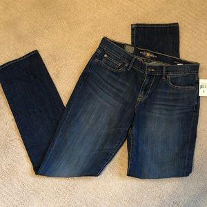 "Lucky women's sweet n straight jeans size 8/29 34"""